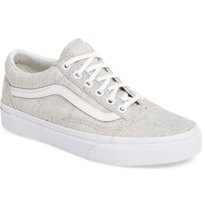 SOLD Vans Old Skool Speckle Gray/ White Unisex